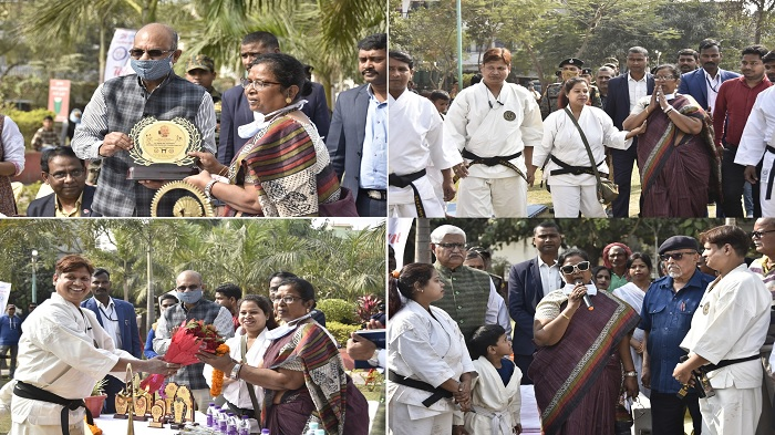 All Bihar Seisinkai Sito-Rito Karate-Do Association ने कराटे प्रशिक्षण शिविर का किया आयोजन